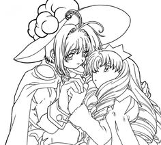 483 best Anime & Manga Coloring Pages images on Pinterest | Coloring ...