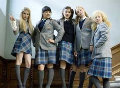 Wild Child Putting an LA spin on English boarding school uniform 🔥