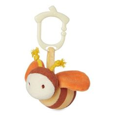 miYim® My Natural Clip N Go Bee Stroller Toy now available at Cheekade Meekade