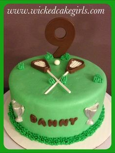 Pin Lacrosse Cake Ideas And Designs On Pinterest picture 36851