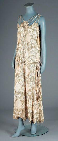 Vionnet Dress - 1921 - by Madeleine Vionnet