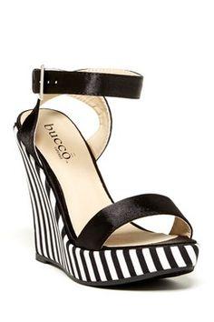 Bucco Enid Wedge Sandal