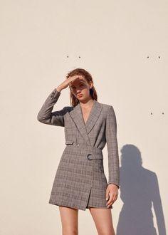 2017 2018 SONBAHAR KIŞ PARİS MODA HAFTASINDAN SOKAK STİLLERİ Street style at Paris Fashion Week Fall/Winter 2017 2018 #fashion #moda #fashionweek #modahaftası #fall #sonbahar #winter #kış #checked #checkered #kareli #Mango