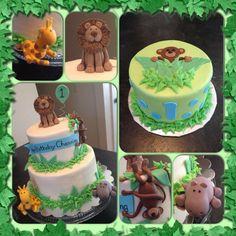 Animal Kingdom birthday cake