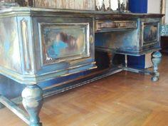 malowane biurko