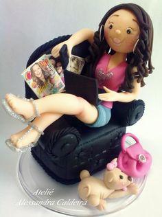 Edible Art Doll