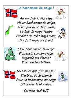 Poésie Le Bonhomme De Neige Corinne Albaut : poésie, bonhomme, neige, corinne, albaut, French, Ideas, Poems,, Learn, French,, Language