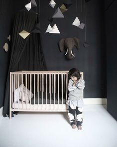 dark paints nursery rooms