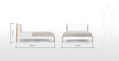 Go full size with these striking designer king size beds. Classic or contemporary to suit your set-up. Our designer king size beds are also available with storage. King Size Bed Frame, Your Perfect, Double Beds, King Beds, Dining Bench, New Homes, Contemporary, Bedroom, Storage