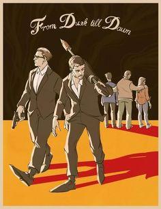 FDTD: The Series, S2 | fan art by Logan Zoelle | via facebook.com (credit: From Dusk Till Dawn: The Series)
