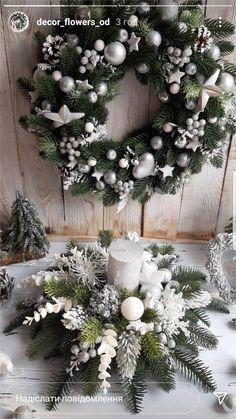 Elegant Christmas Decor, Easy Christmas Decorations, Holiday Centerpieces, Rustic Christmas, Christmas Crafts, Christmas Advent Wreath, Yule, Christmas Flower Arrangements, Christmas Tree Inspiration
