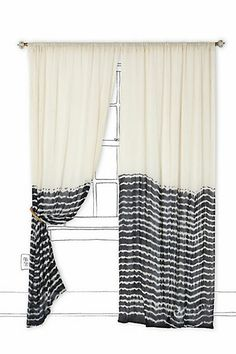 Bamoko Curtain. (This seems like it would be a fairly easy DIY)