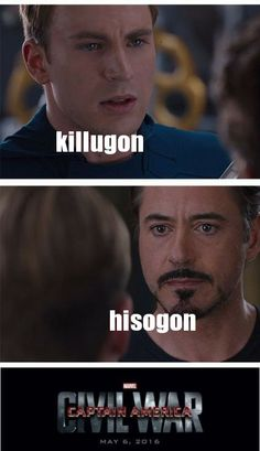 Killugon!! No, wait, Hisogon!! No, killu...hiso...k- Wait, I need to talk to myself about this...