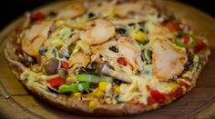 Serpenyős pizza Vegetable Pizza, Vegetables, Food, Vegetable Recipes, Eten, Veggie Food, Meals, Vegetarian Pizza, Veggies
