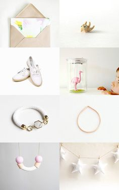 Fresh flowers by Helena on Etsy--Pinned with TreasuryPin.com   star garland for baby room decor