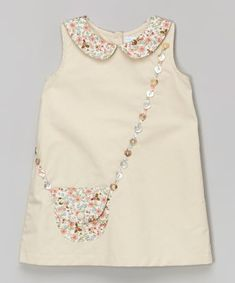 Zulily Handbag Appliqued Dress Perfect examples of how to wear children's clothes - Nähen - Baby Clothes Little Dresses, Little Girl Dresses, Baby Dresses, Dress Girl, Fashion Kids, Womens Fashion, Toddler Fashion, Fashion Wear, Fashion 2020