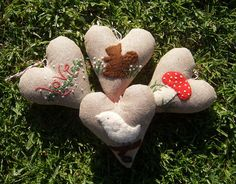 hearts by prairie.mouse, via Flickr