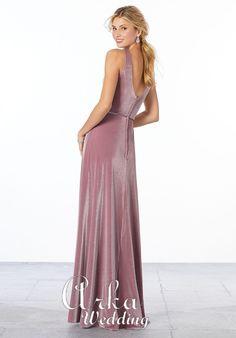 Prom Dresses, Formal Dresses, Velvet, Fashion, Dresses For Formal, Moda, Formal Gowns, Fashion Styles, Formal Dress