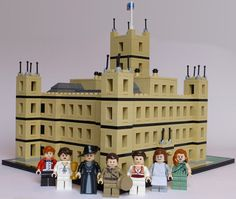 LEGO Downton Abbey Probably Wouldn't Meet The Dowager Countess' Approval [Video] @Catherine Curtis @Lindsay Curtis