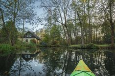 How to have a lovely day trip to Spreewald, Germany, from Berlin. Tips on how to rent your own kayak and get away from the tourist crowds, plus directions. #lübbenau #brandenburg #germany