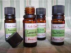 Principales huiles essentielles utilisées