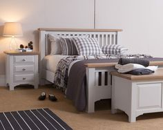 georgia-country-light-grey-3ft-single-bed-with-oak-trims-32592-p.jpg (736×588)