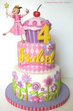 Pinkalicious cake.