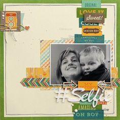 #papercraft #scrapbook #layout.  Cool As A Cucumber Soup - Jillibean Soup : Gallery : A Cherry On Top