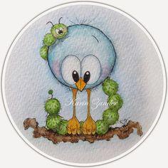 Kajsansscrapblog: .:Fyra nya birdies~Four new birdies:.