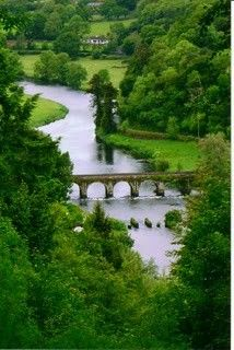 Inistioge, Co Kilkenny, Ireland; so this is why Ireland's signature color is green. BEAUTIFUL!! I want to go gallop in a field!!