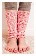 Free Knitting Patterns - Leg Warmers