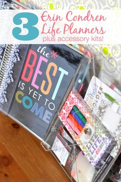 7 Tips for an Organized Life - Set strong habits for a good year! Plus there's an Erin Condren Life Planner giveaway  open until 1/12/15! {The Love Nerds}