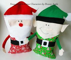 Brassy Apple: Snuggley Christmas Characters - tutorial