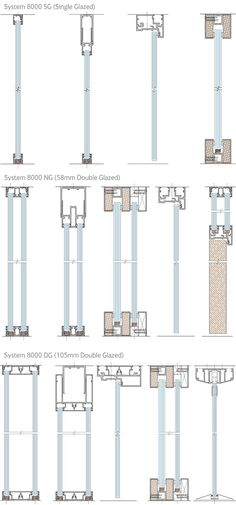 Frameless glazing detail image search results buda bulunamayan Detail Architecture, Plans Architecture, Architecture Student, Architecture Drawings, Interior Architecture, Architecture Portfolio, Window Detail, Door Detail, Curtain Wall Detail