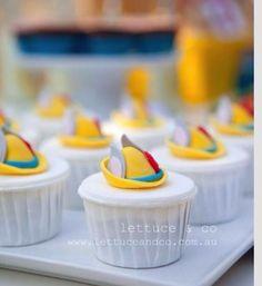 Pinocho cupcakes