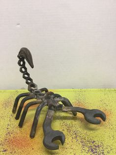 Welded Metal Sculpture Scorpion by ItsALLGoodVintageArt on Etsy