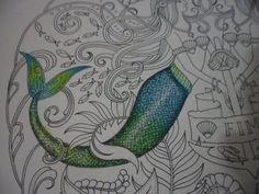 Pintando Calda da Sereia - Oceano perdido - Lost Ocean