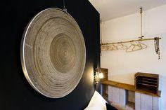 """Sans titre"" ( cercle carton ) teya : Clélia Portal #art #cleliaportal #teya #sculpture #matiere #survivance #nature #contemporain #installation #marseille #cercle #jeune #france #sud #papier #pjt #mecene #exposition #femme #artiste#carton #bois #www.teya.fr"