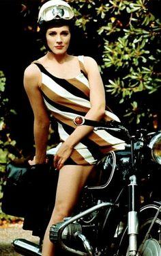 Julie Andrews BMW girl.