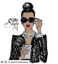 Style, Design & Class | #Repost @nk_fashionillustration (@get_repost) ・・・...