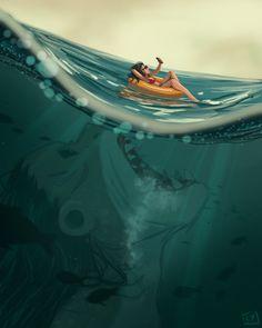 ArtStation - Mermay: Deep Waters, Kyra P.