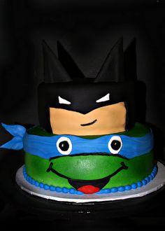 Ninja Turtle Birthday Cake wish it was my favorite turtle Raphael