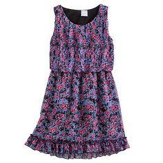 Disney D-Signed Pleated Chiffon Dress - Girls 7-16