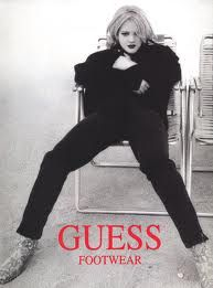 Drew Barrymore Guess AD