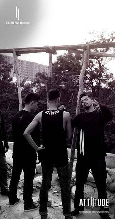 My Gang My Attiitude.  Attiitude basketball team posing with their favorite gears. #alternativefashion #mensfashion #streetstyle #blackandwhite #photoshoot #swag #teamspirit