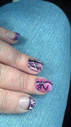Muddy Girl Camo nails done by the amazing Sam at the Patrician Room in North Tonawanda, NY