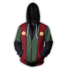 8699ba83161 Naruto Hoodies - Jiraiya Zip Hoodie