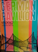 [FR]POSTER du pavillon ALLEMAND GERMANY EXPO 67 Montreal City of Montréal Greater Montréal Preview Expo 67 Montreal, Canada, World, Poster, Design, German Language, Gazebo, The World, Posters