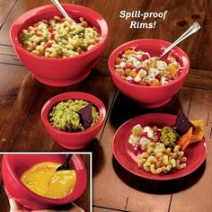 Spill Proof Bowls