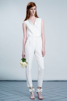 Chic wedding jumpsuit by Victor & Rolf